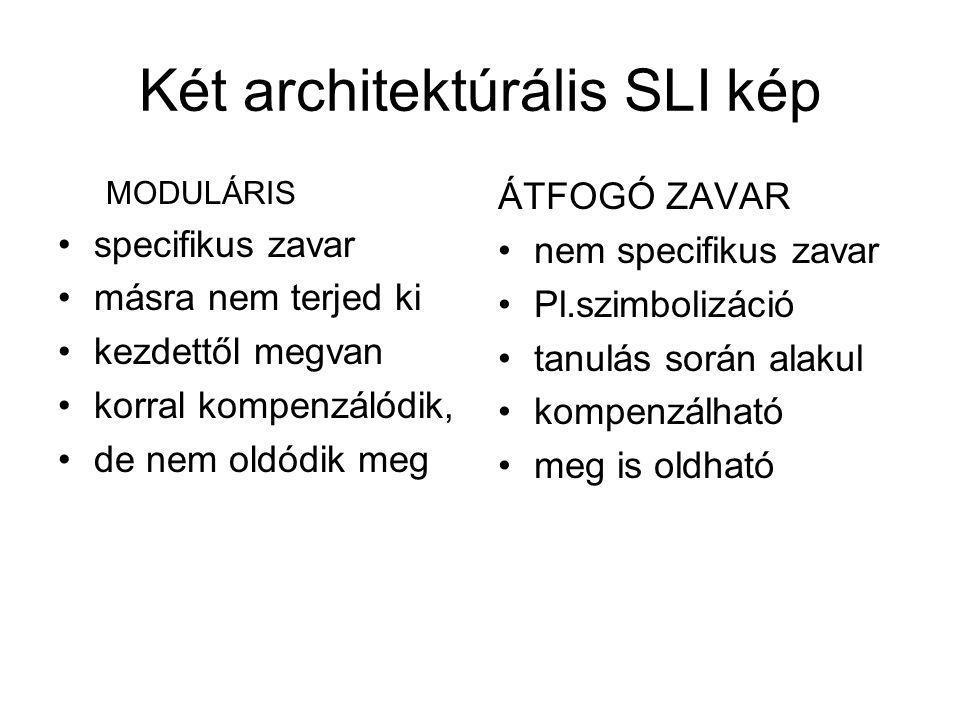 Két architektúrális SLI kép