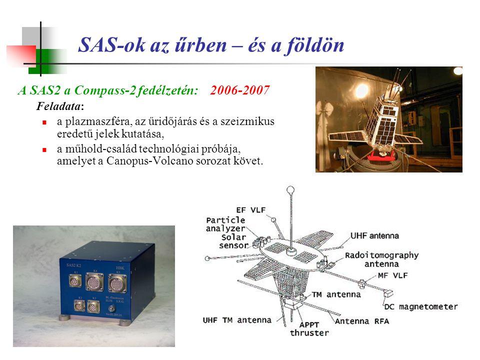 SAS-ok az űrben – és a földön