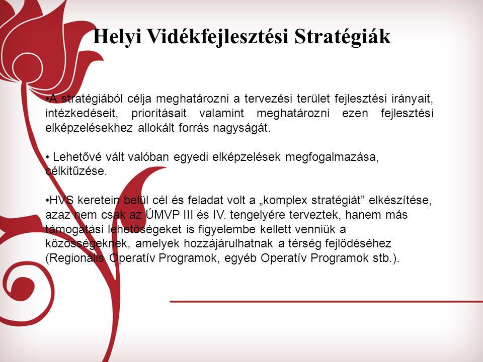 Helyi Vidékfejlesztési Stratégiák