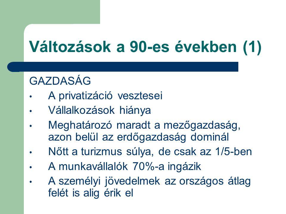 Változások a 90-es években (1)