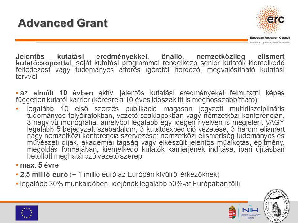 Advanced Grant