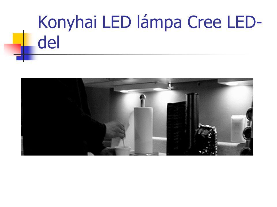 Konyhai LED lámpa Cree LED-del