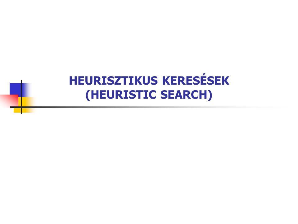 HEURISZTIKUS KERESÉSEK (HEURISTIC SEARCH)