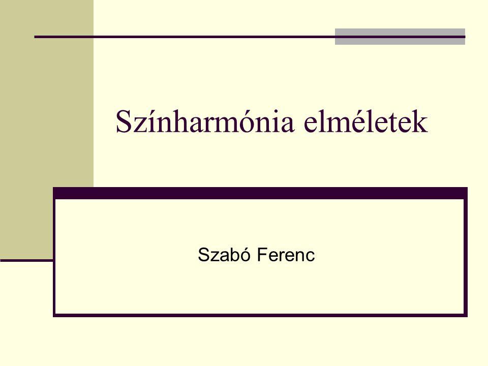 Színharmónia elméletek