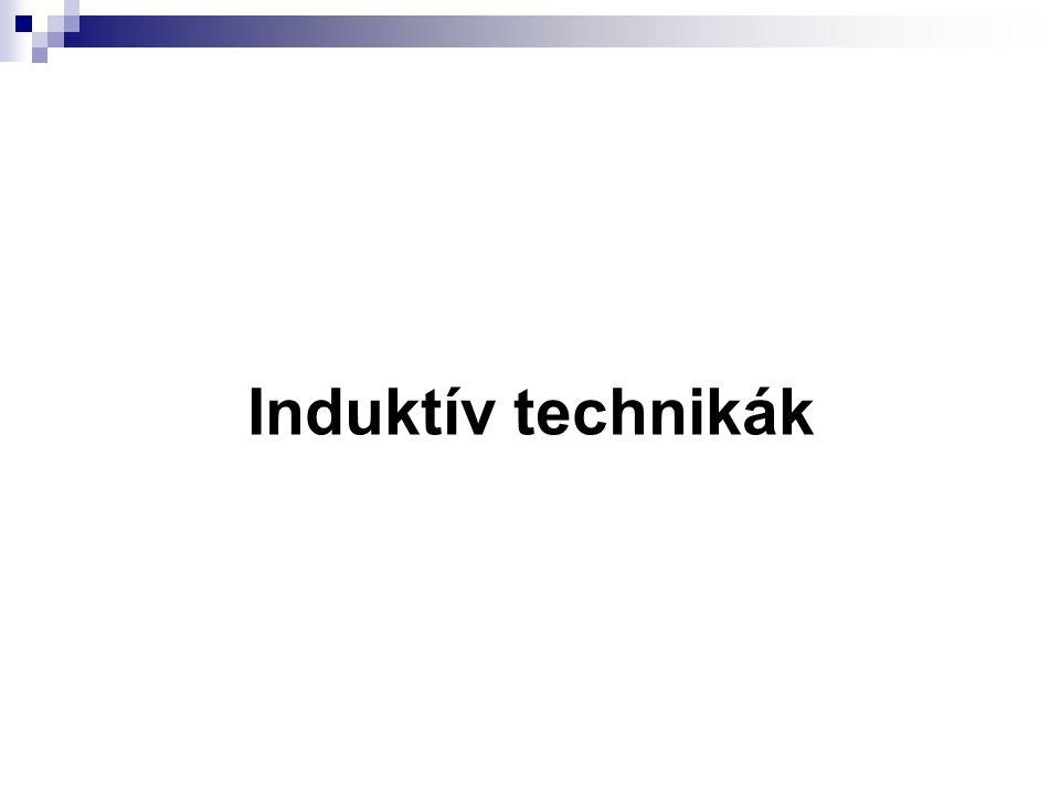 Induktív technikák