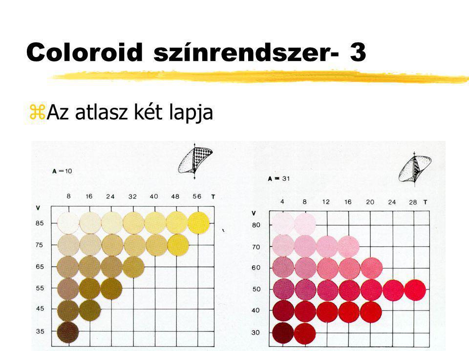 Coloroid színrendszer- 3