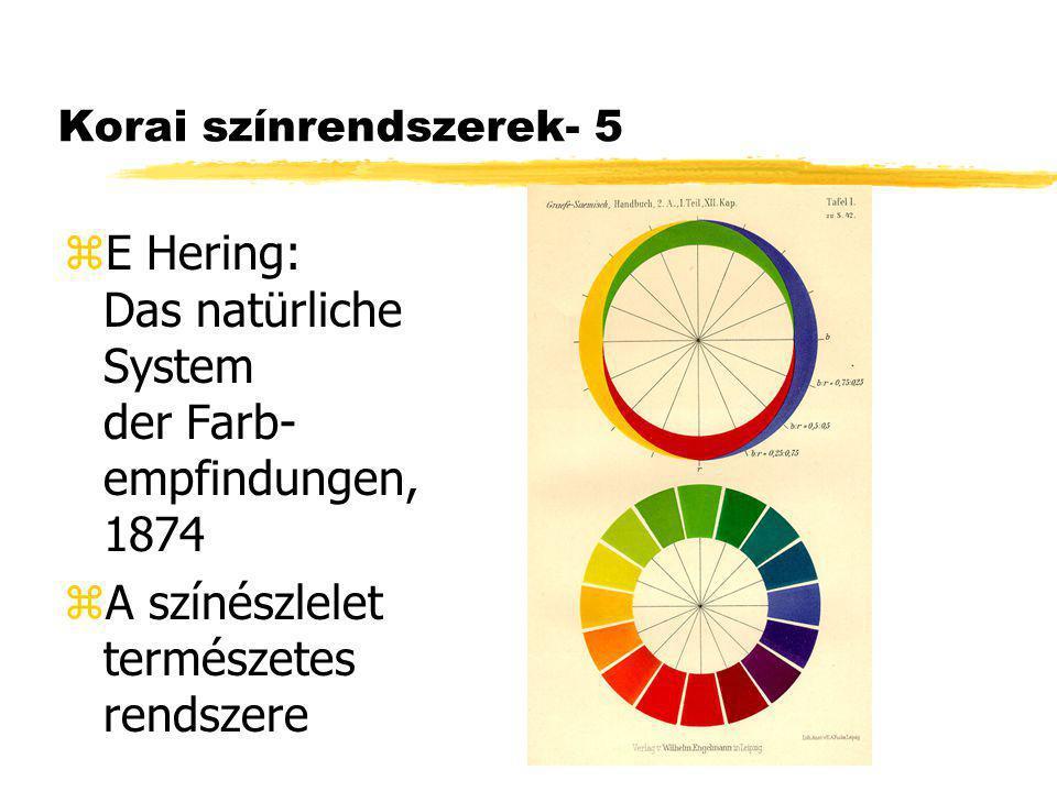 Korai színrendszerek- 5