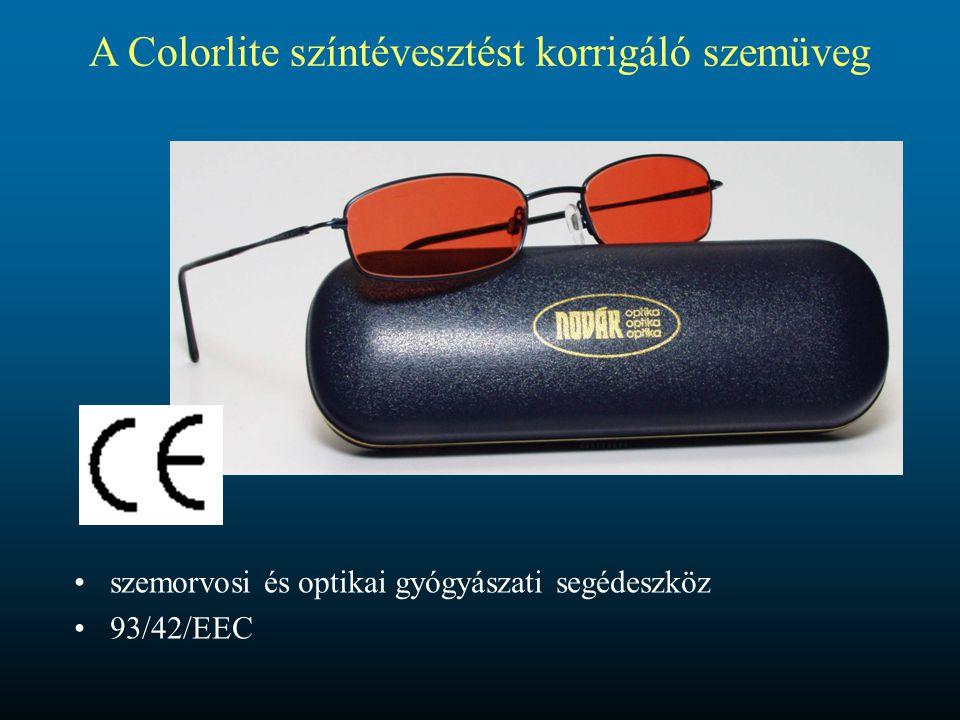 A Colorlite színtévesztést korrigáló szemüveg