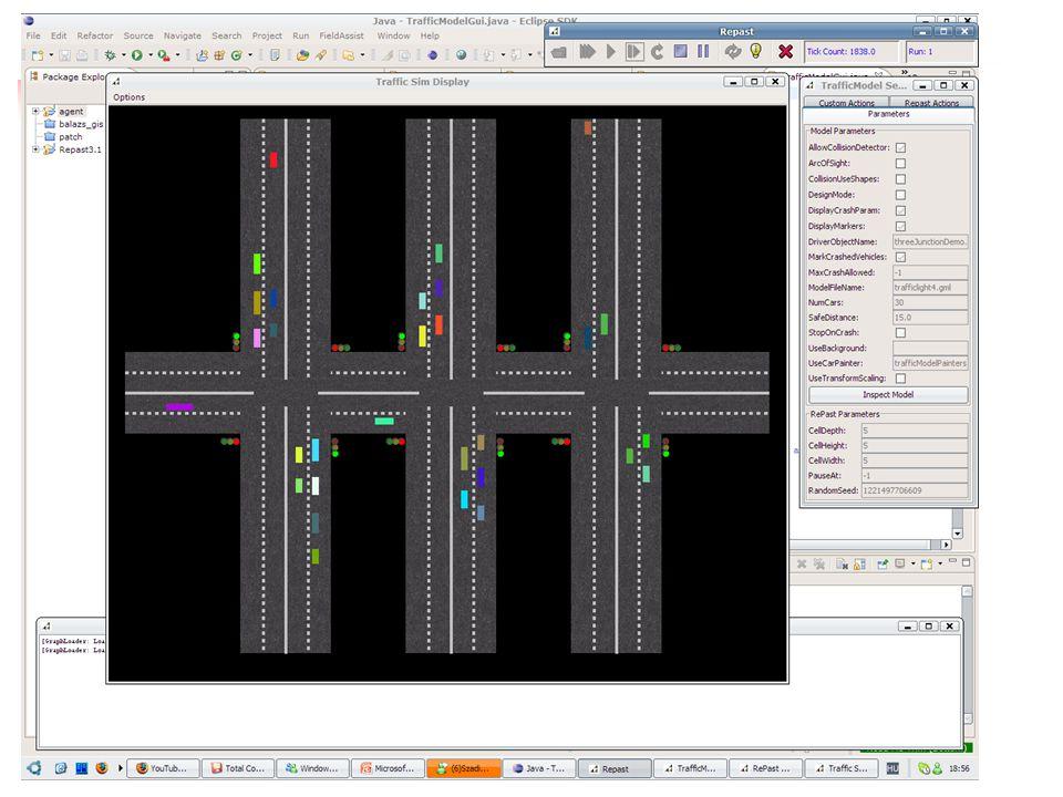 Közlekedési szimuláció ágensekkel