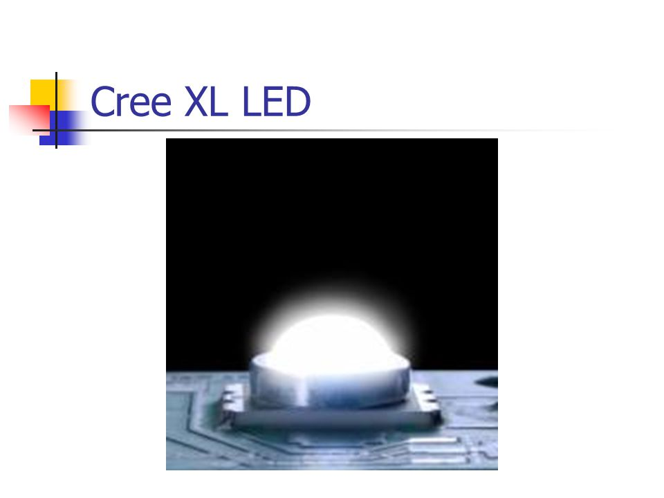 Cree XL LED