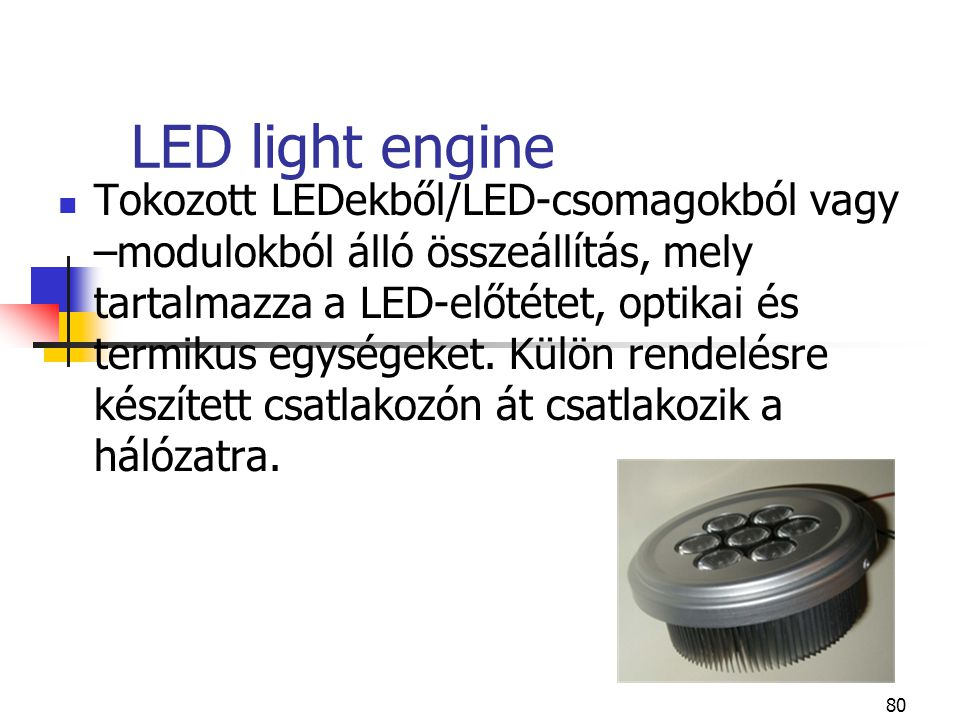 LED light engine