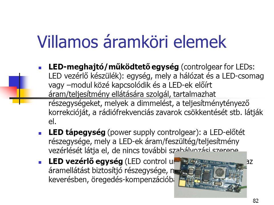 Villamos áramköri elemek