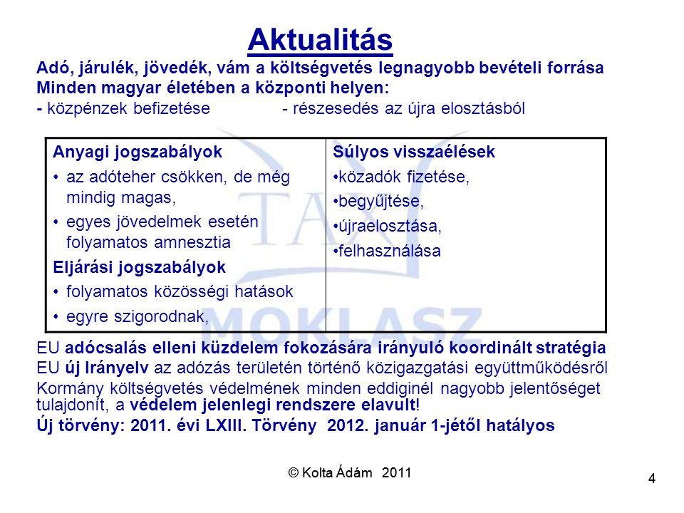 Aktualitás Adó, járulék, jövedék, vám a költségvetés legnagyobb bevételi forrása. Minden magyar életében a központi helyen: