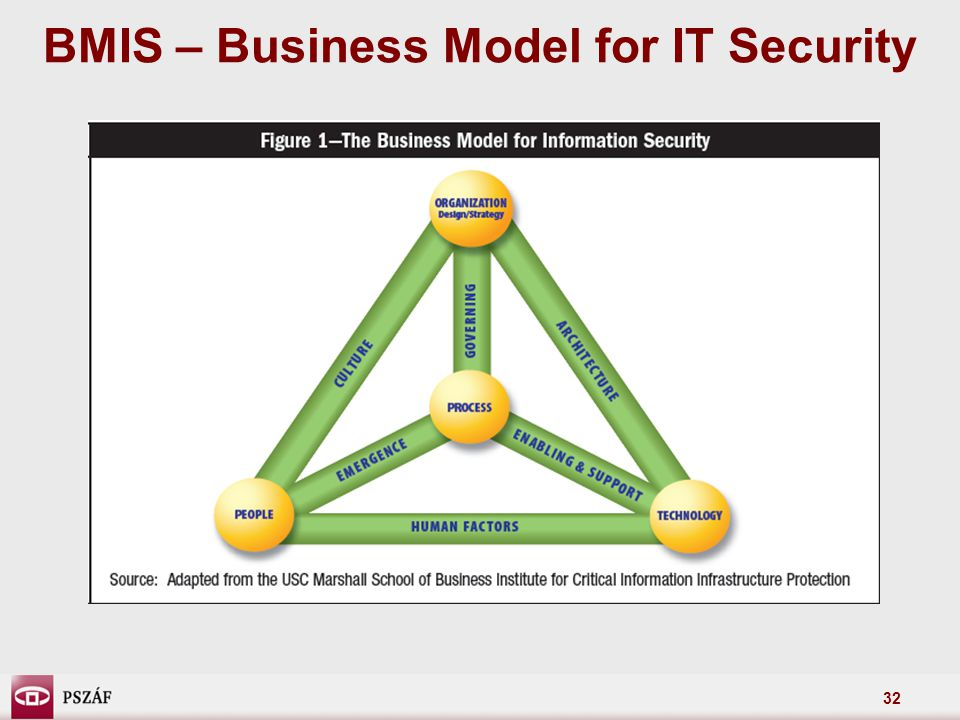 BMIS – Business Model for IT Security