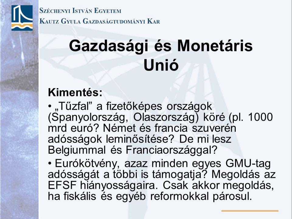 Gazdasági és Monetáris Unió