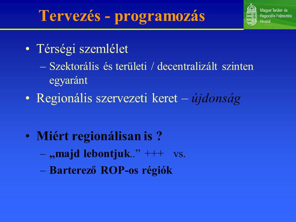 Tervezés - programozás