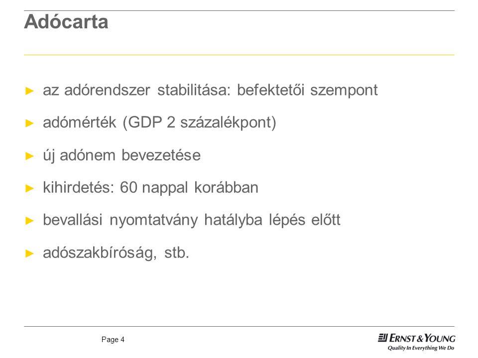 Adócarta az adórendszer stabilitása: befektetői szempont