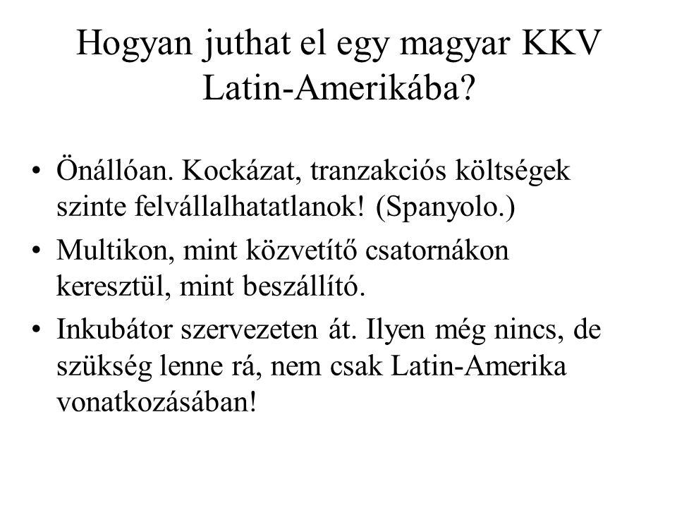 Hogyan juthat el egy magyar KKV Latin-Amerikába