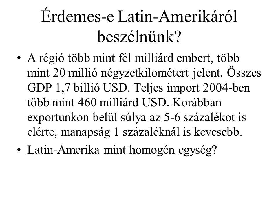 Érdemes-e Latin-Amerikáról beszélnünk