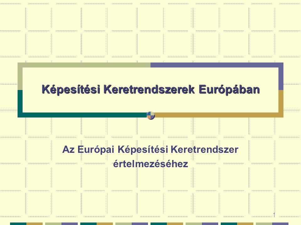 Képesítési Keretrendszerek Európában