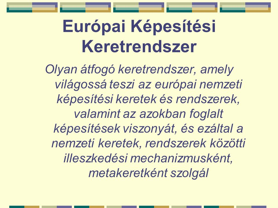 Európai Képesítési Keretrendszer