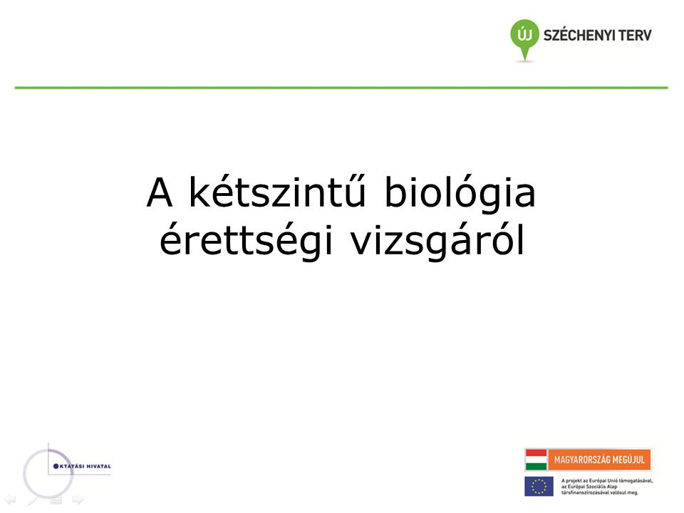 A kétszintű biológia érettségi vizsgáról