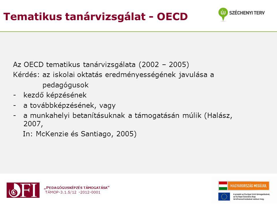 Tematikus tanárvizsgálat - OECD