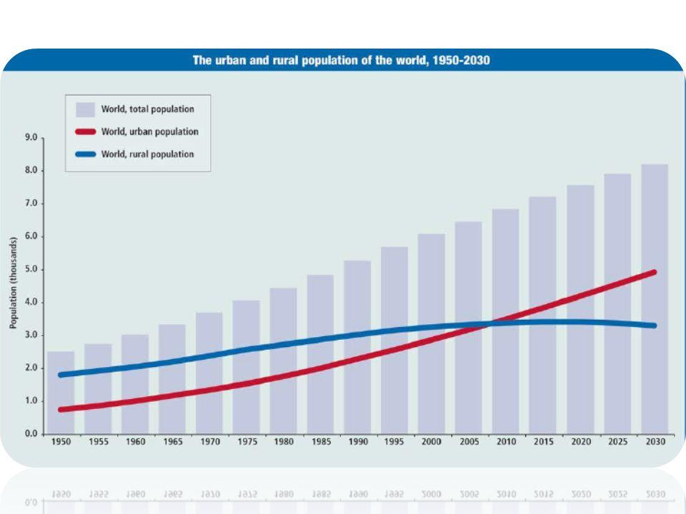 Városiasodás hatása: naponta 200 ezer új városlakó jelenik meg