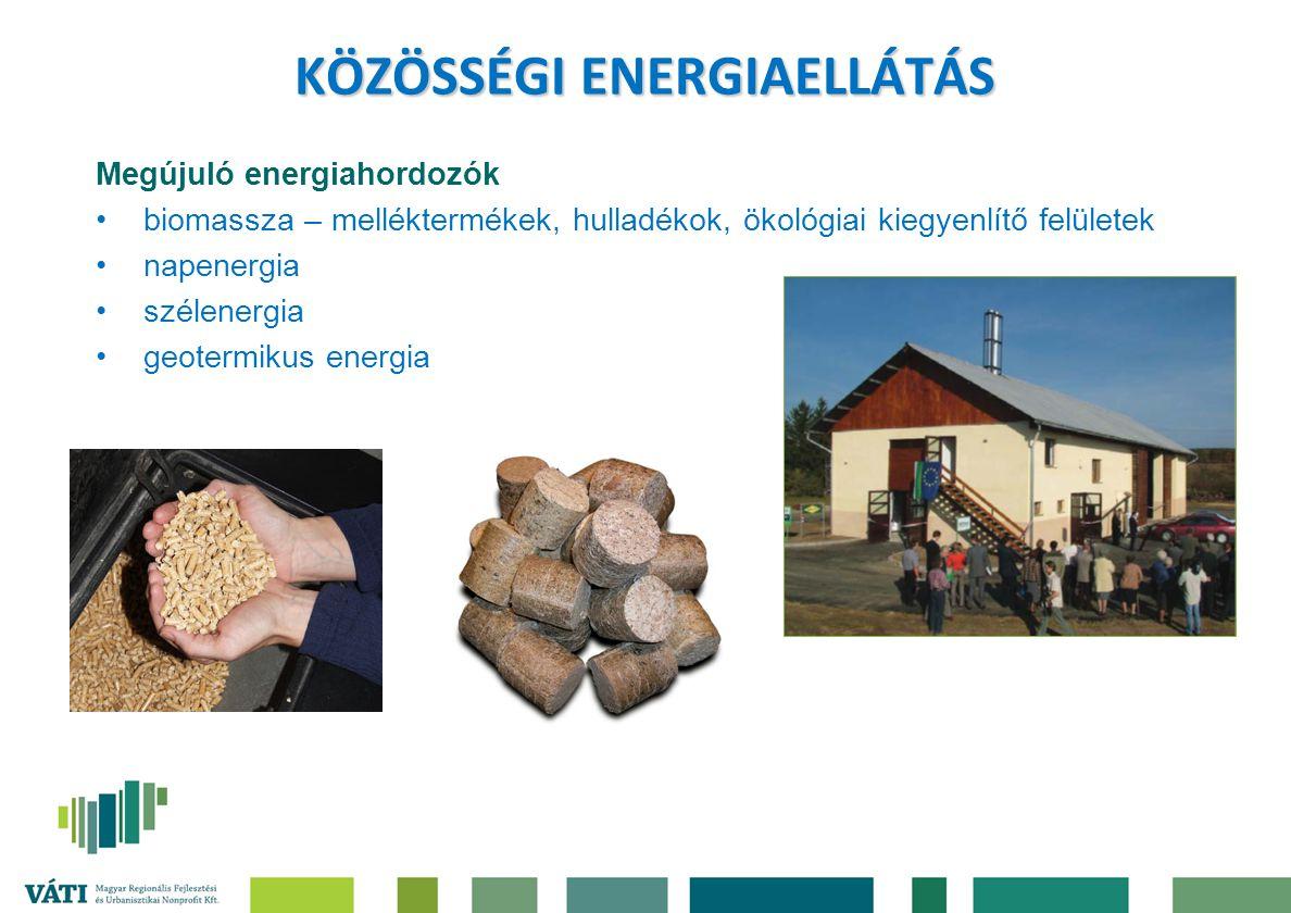 KÖZÖSSÉGI ENERGIAELLÁTÁS