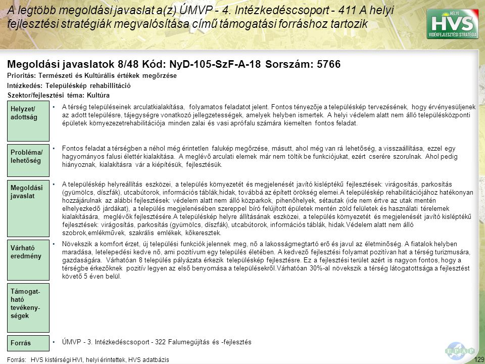 Megoldási javaslatok 8/48 Kód: NyD-105-SzF-A-18 Sorszám: 5766