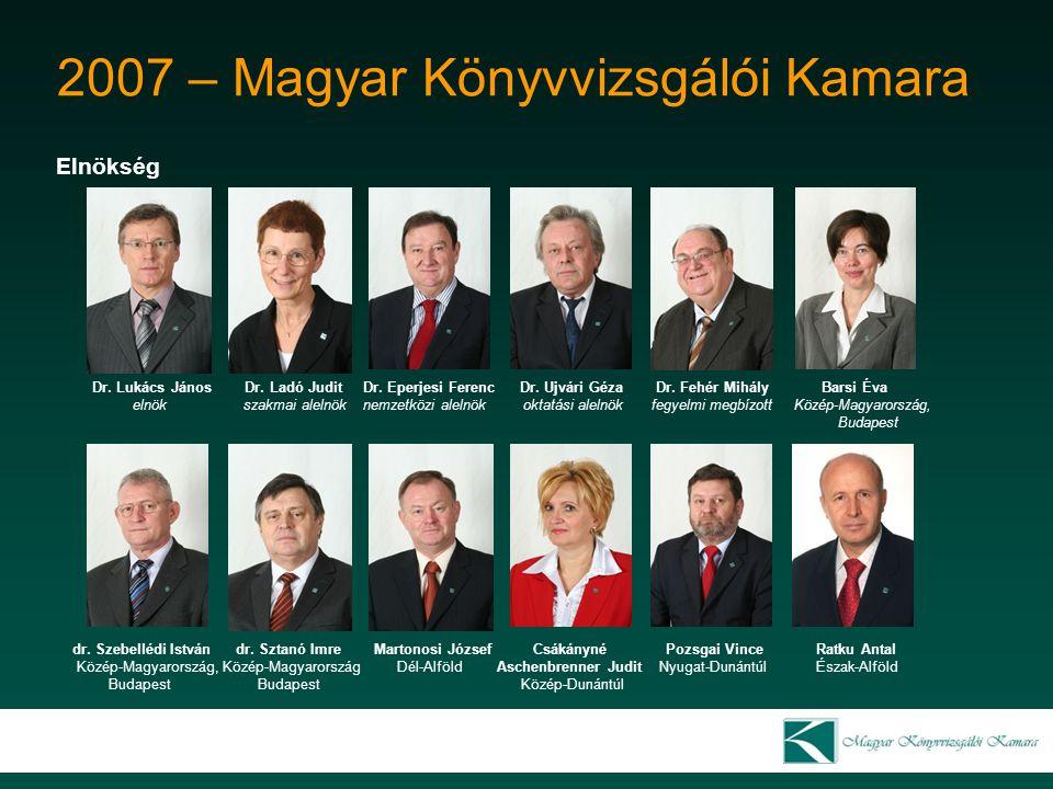 2007 – Magyar Könyvvizsgálói Kamara