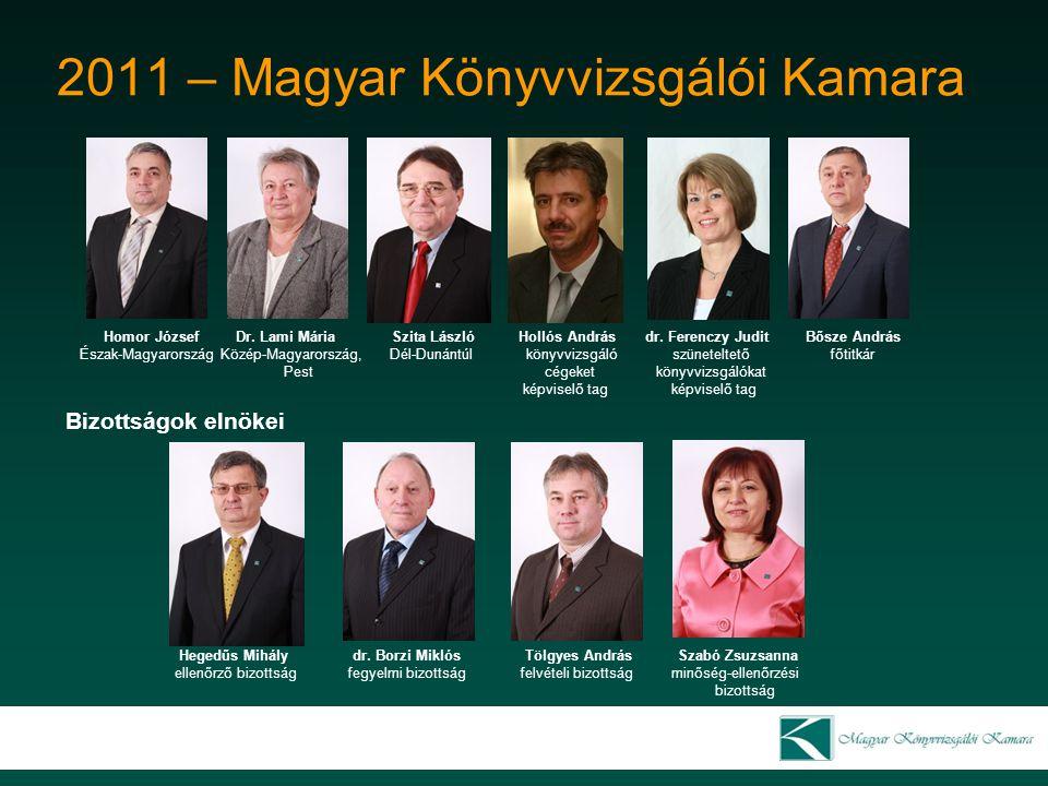 2011 – Magyar Könyvvizsgálói Kamara