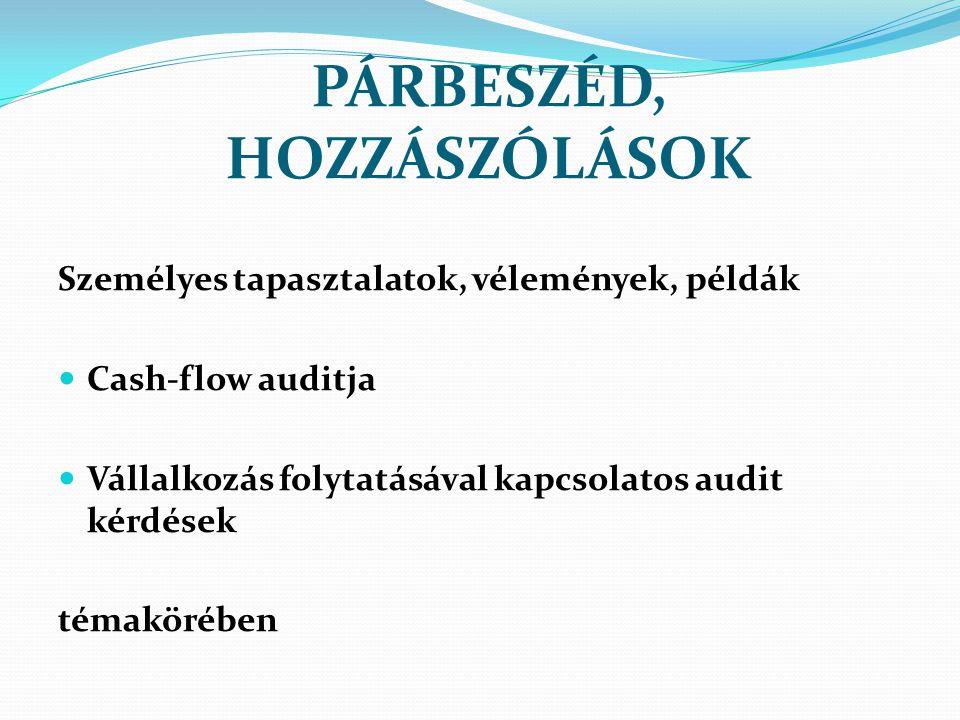 PÁRBESZÉD, HOZZÁSZÓLÁSOK