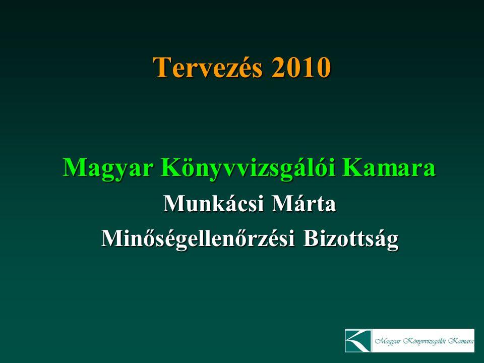 Magyar Könyvvizsgálói Kamara Minőségellenőrzési Bizottság