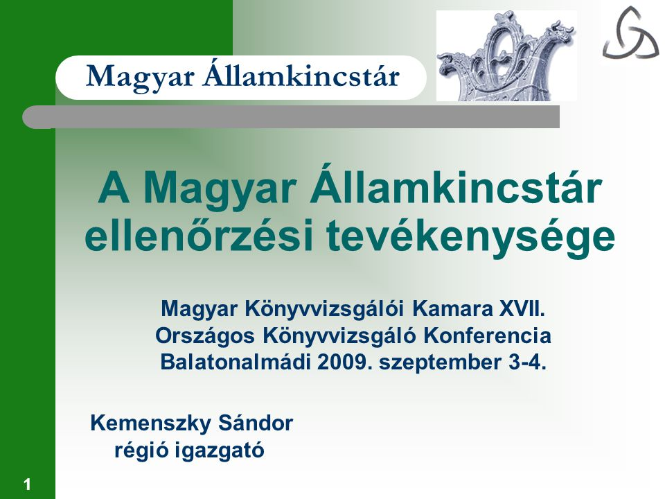 A Magyar Államkincstár ellenőrzési tevékenysége