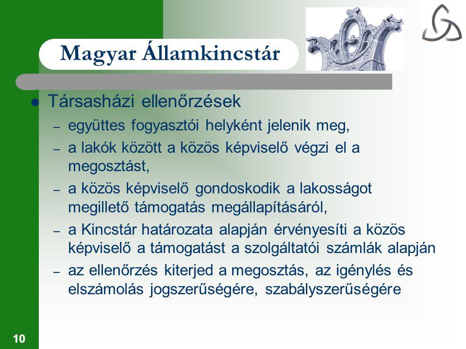 Magyar Államkincstár Társasházi ellenőrzések