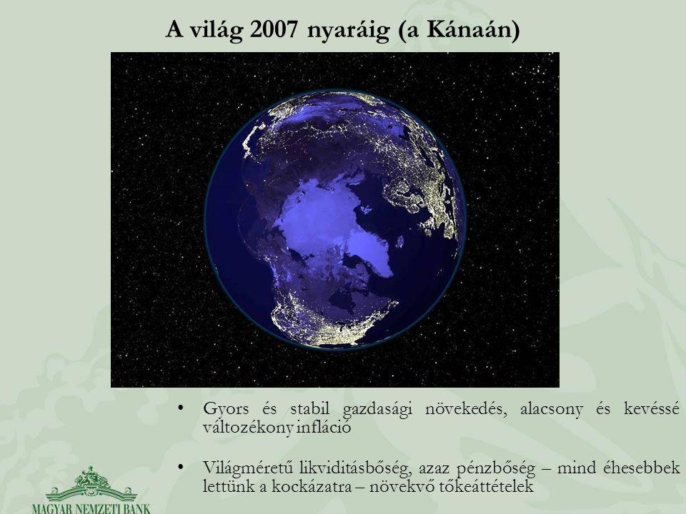 A világ 2007 nyaráig (a Kánaán)