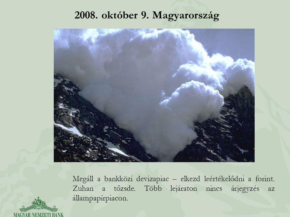 2008. október 9. Magyarország