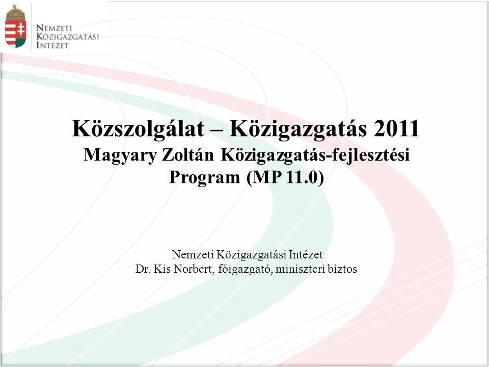 Közszolgálat – Közigazgatás 2011