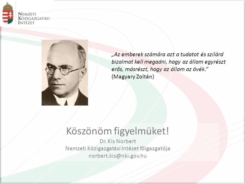 Nemzeti Közigazgatási Intézet főigazgatója