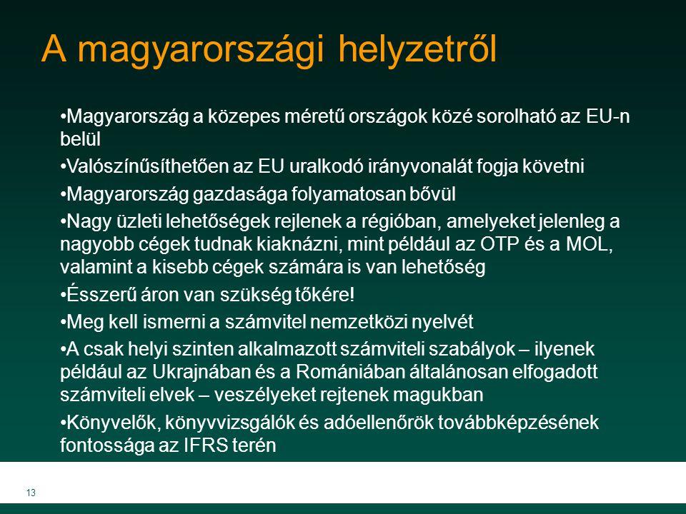 A magyarországi helyzetről