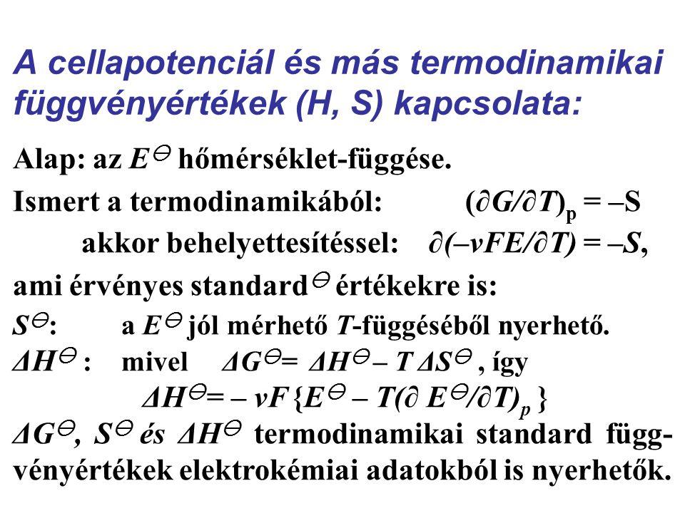 ΔH= – νF {E – T(∂ E/∂T)p }