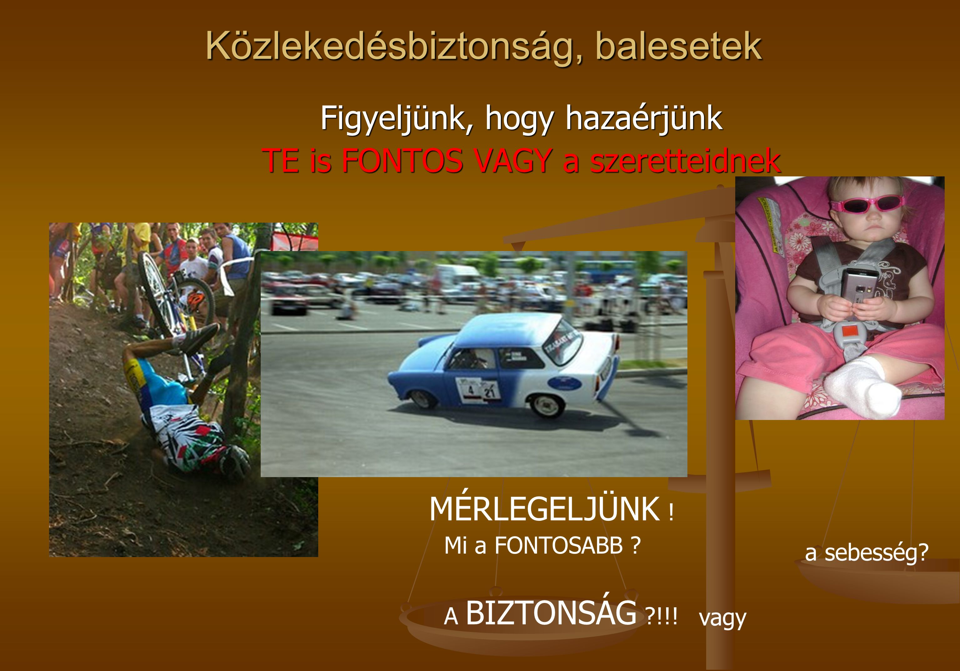 Közlekedésbiztonság, balesetek