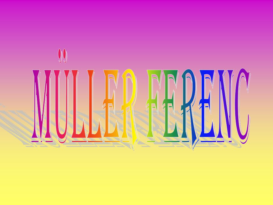 Müller Ferenc