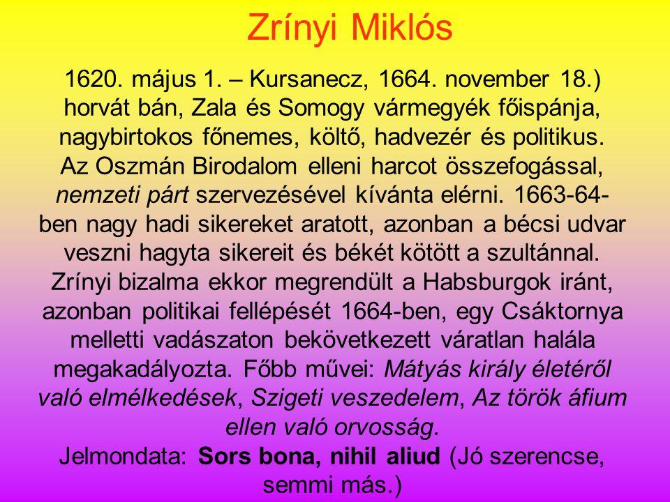 Jelmondata: Sors bona, nihil aliud (Jó szerencse, semmi más.)