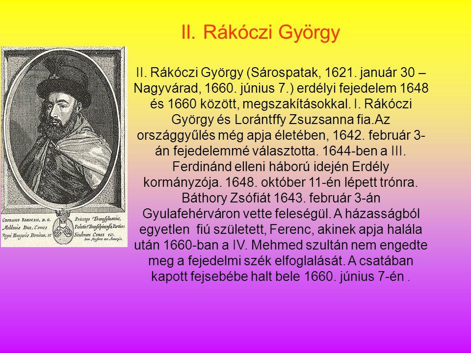II. Rákóczi György