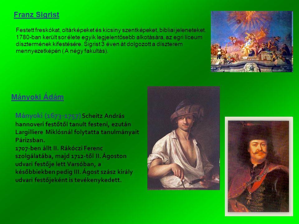 Franz Sigrist Mányoki Ádám