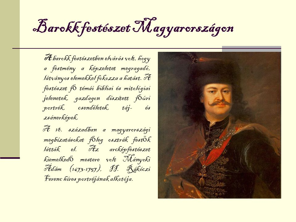 Barokk festészet Magyarországon