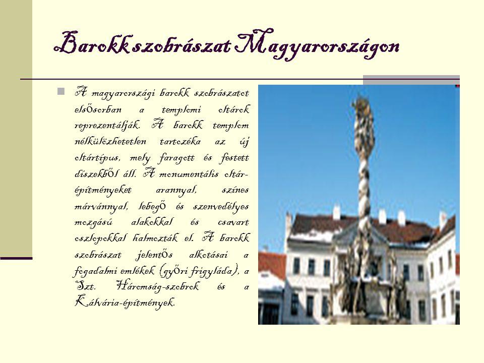 Barokk szobrászat Magyarországon