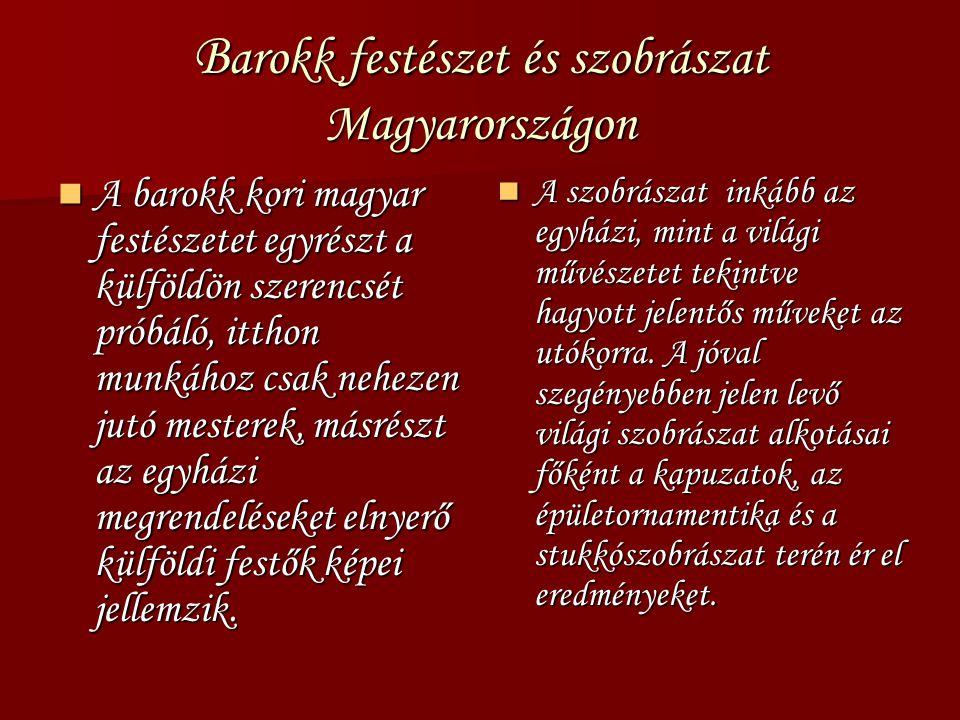 Barokk festészet és szobrászat Magyarországon